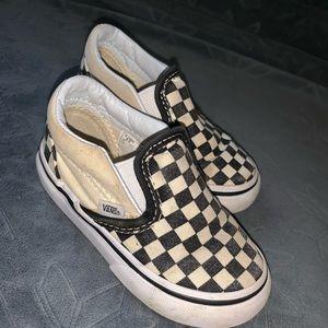 Toddler Vans slip on sneakers
